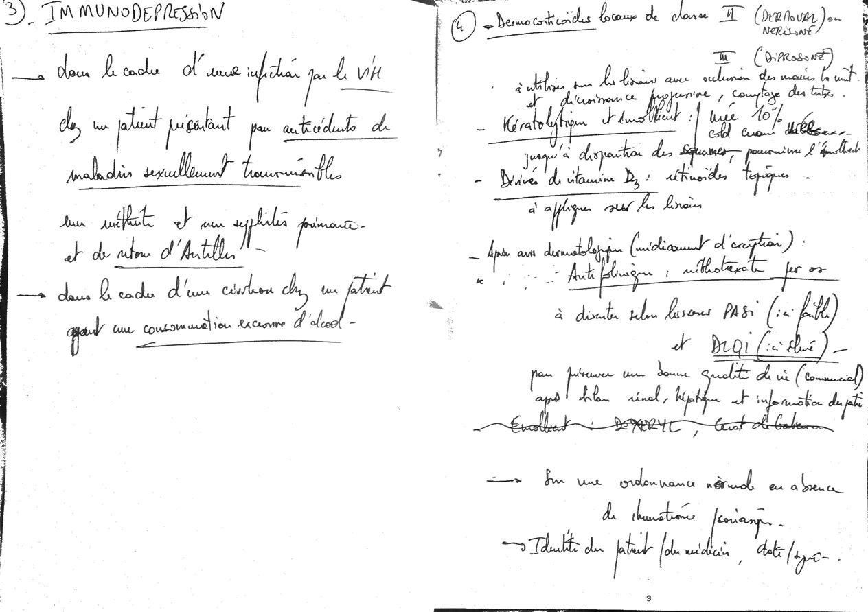 Questions 3 et 4
